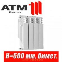Радиатор биметаллический ATM Thermo Metallo 500