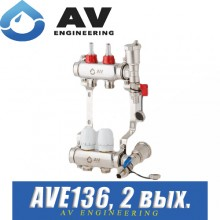 Коллектор AV Engineering AVE136 (2 выхода)