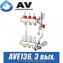 Коллектор AV Engineering AVE136 (3 выхода)