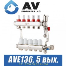 Коллектор AV Engineering AVE136 (5 выходов)