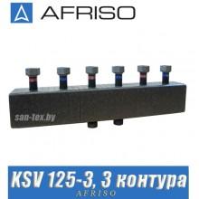 Коллектор Afriso KSV 125-3 (3 насосные группы)