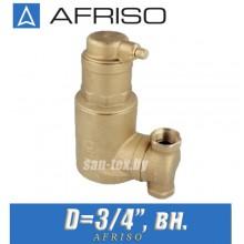 Сепаратор воздуха Afriso FAR 301 (поворотный)