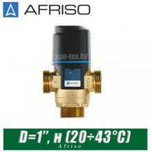 Трехходовой клапан Afriso ATM361 D=1'', н (20÷43°С)
