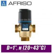 Трехходовой клапан Afriso ATM561 D=1'', н (20÷43°С)