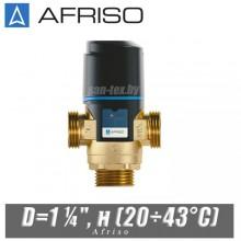 """Трехходовой клапан Afriso ATM881 D=1 ¼"""", н (20÷43°C)"""