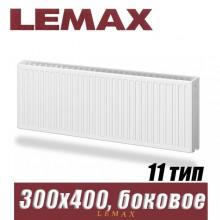 Стальной радиатор Lemax Compact тип 11 300x400 мм