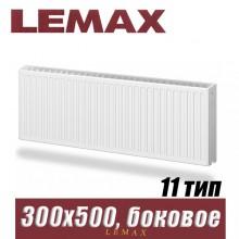 Стальной радиатор Lemax Compact тип 11 300x500 мм