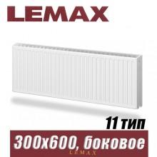 Стальной радиатор Lemax Compact тип 11 300x600 мм