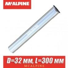 Трубка хром McAlpine D=32 мм, L=300 мм