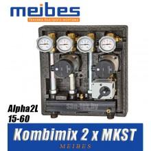 Модуль Meibes Kombimix 2 x MKST - Alpha2L 15-60 [40 кВт]
