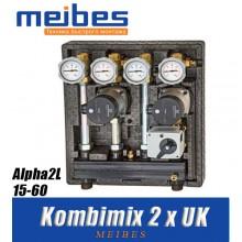 Модуль Meibes Kombimix 2 x UK - Alpha2L 15-60 [40 кВт]