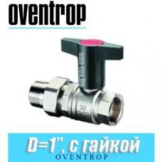 """Кран шаровый с американкой Oventrop Optibal D1"""""""