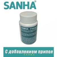 Паста паяльная с добавлением припоя Sanha