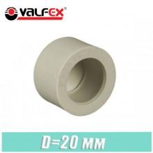 Заглушка паечная полипропилен Valfex D20мм