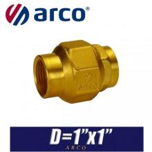 """Клапан обратный универсальный Arco STOP D1""""x1"""""""