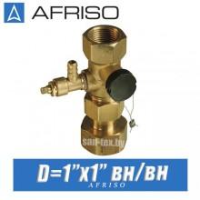 """Клапан для расширительного бака Afriso ASK 1""""x1"""" вн/вн"""
