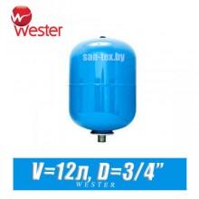 Расширительный бак для ХВС Wester 12 л (WAV12)