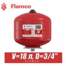 Расширительный бак Flamco FLEXCON 18л