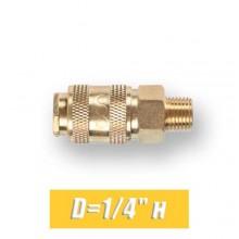 """Быстросъем для компрессора Eco D=1/4"""" н"""