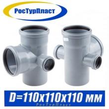 Крестовина РосТурПласт D110/110/50/50 мм