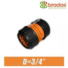 """Соединитель шлангов BRADAS 3/4"""" (20 мм)"""