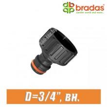 """Соединитель BRADAS 3/4"""" (20 мм), вн."""