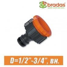 """Соединитель BRADAS 1/2"""",3/4"""" (15,20 мм), вн."""