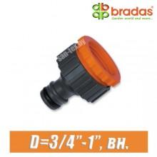 """Соединитель BRADAS 3/4"""",1"""" (20,25 мм), вн."""