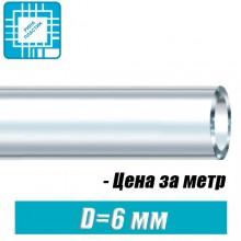 Шланг ПВХ пищевой, технический D=6x1,5 мм