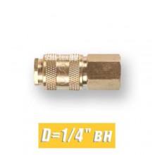 """Быстросъем для компрессора Eco D=1/4"""" вн"""