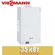 Конденсационный газовый котел Viessmann Vitodens 100 WB1HC 35 turbo (Одноконтурный)