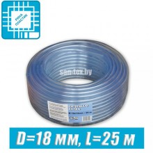 Шланг ПВХ пищевой, технический D=18 мм, 25 м