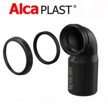 Колено стока для инсталляции Alcaplast M906 D=90/110 мм