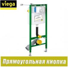 Инсталляция для унитаза Viega ECO 727550 (с кнопкой и креплениями)
