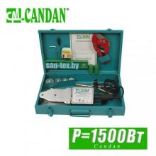 Паяльник для трубполипропилен Candan 1500 Вт