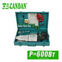 Паяльник для труб полипропилен Candan 600 Вт