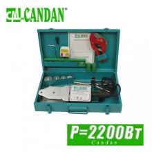 Паяльник для труб полипропилен Candan 2200 Вт