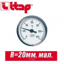 Термометр Itap маленький R=20 мм