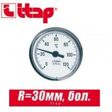 Термометр Itap большой R=30 мм