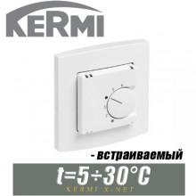 Термостат комнатный встраиваемый Kermi x-net