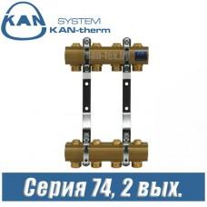 Гребенка для радиаторов KAN-therm 74020