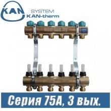 Коллектор KAN-therm 75030A (3 выхода)