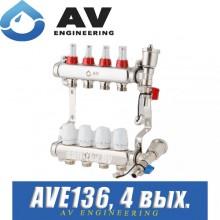 Коллектор AV Engineering AVE136 (4 выхода)