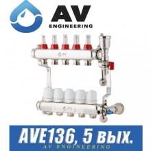 Коллектор AV Engineering AVE136 (5 выходов)