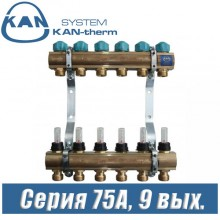 Коллектор KAN-therm 75090A (9 выходов)