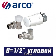 """Комплект Arco TIBET D1/2"""", угловой"""