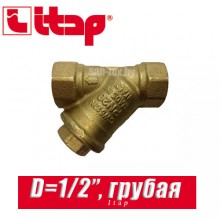 """Фильтр грубой отчистки сетчатый Itap D1/2"""" арт. 192"""