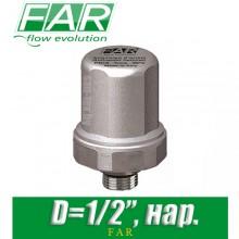 """Компенсатор гидроударов FAR FA 2895 12 D1/2"""", нар."""