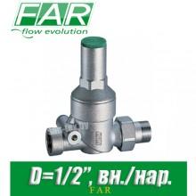 """Регулятор давления FAR FA 2830 12 D1/2"""", вн./нар. (без манометра)"""