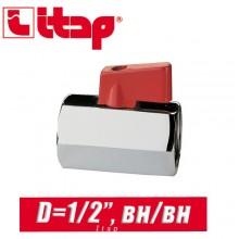 """Кран """"Mini"""" Itap D1/2"""" вн/вн"""